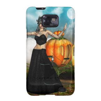 Medusa de Halloween Samsung Galaxy S2 Fundas