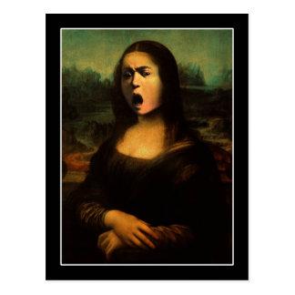 Medusa de Mona de Caravaggio Tarjetas Postales