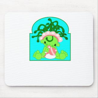 Medusa del bebé alfombrillas de raton