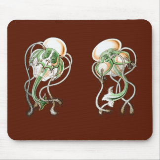 Medusa del tee de golf tapete de ratones