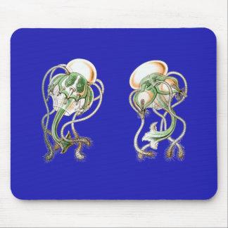 Medusa del tee de golf mouse pad