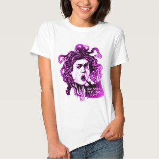 MEDUSA Don't Make me... Vintage Mythological print T Shirt