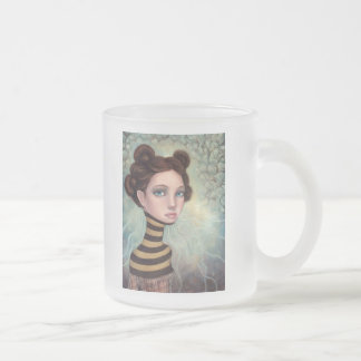 Medusa Frosted Glass Coffee Mug