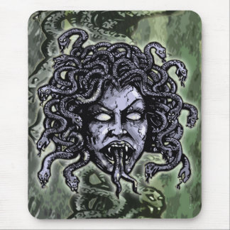 Medusa Gorgon Mouse Pad