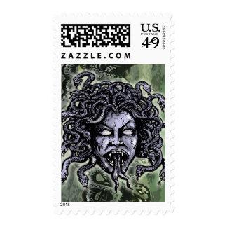 Medusa Gorgon Stamps