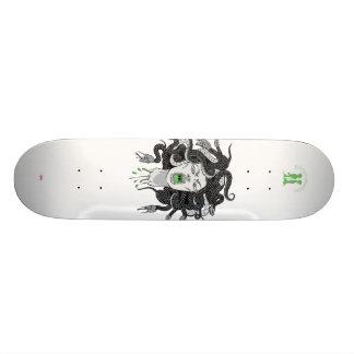 """""""Medusa"""" gray Skateboard Deck"""