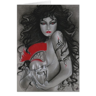 Medusa Greek Mythology Card