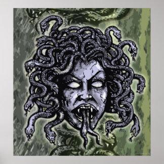 Medusa Greek Mythology Gorgon Poster