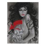 Medusa Greek Mythology Postcard
