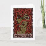 Medusa Greeting Card