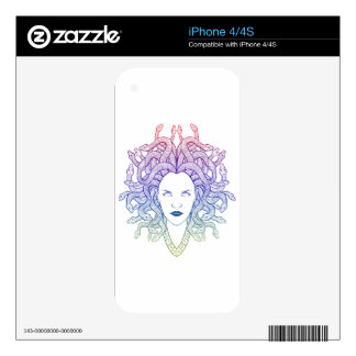 Medusa Head Skins For The iPhone 4