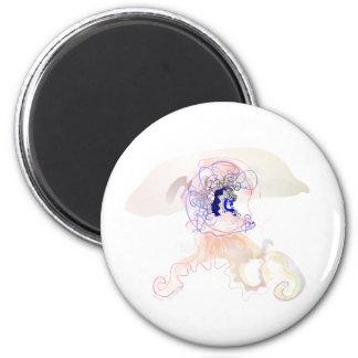 medusa helmet jellyfish magnet