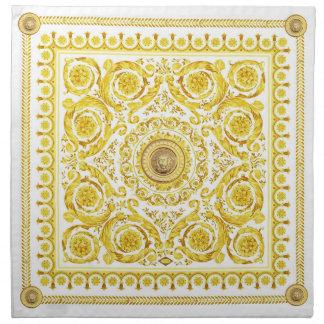Medusa italiana del diseño, Barroco del roccoco, Servilleta