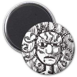 Medusa Refrigerator Magnets