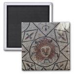 Medusa, mosaico romano de la casa de Orfeo Imán Cuadrado