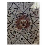 Medusa, mosaico romano de la casa de Orfeo Tarjetas Postales