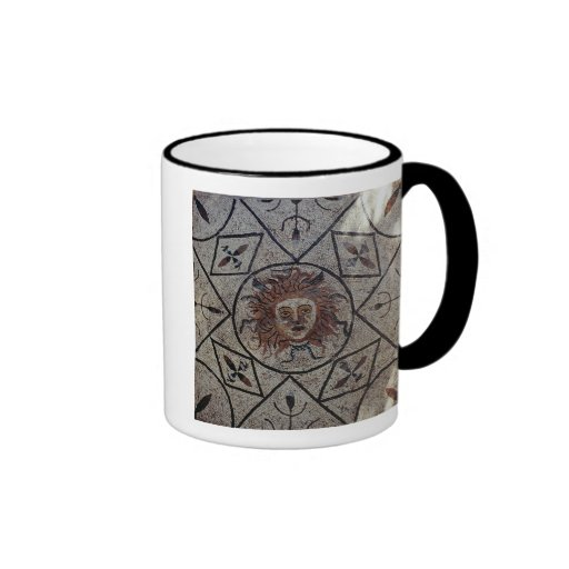 Medusa, mosaico romano de la casa de Orfeo Taza De Dos Colores