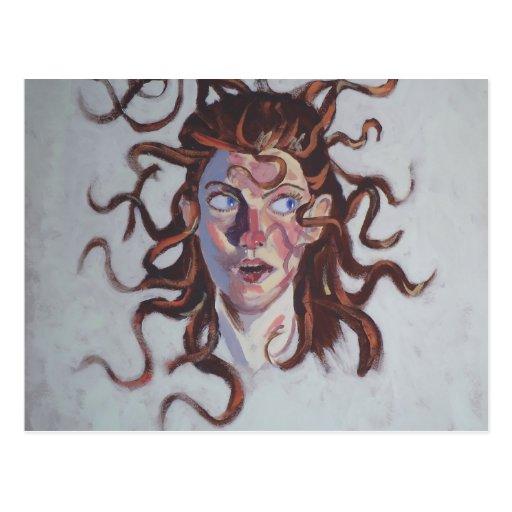 Medusa: ¡Mún día del pelo! Postal