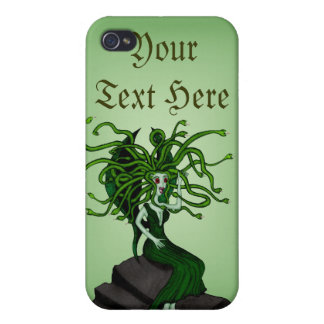 Medusa On The Rocks iPhone 4 Cover