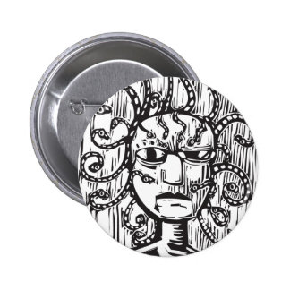 Medusa Pin Redondo 5 Cm