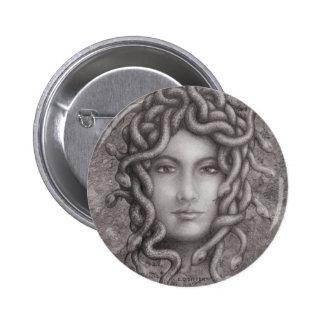 Medusa Pinback Button