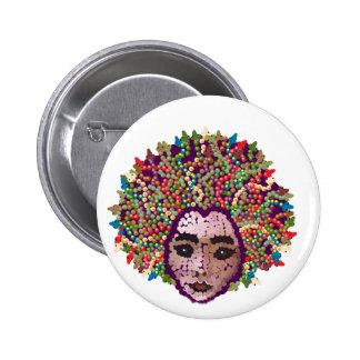 Medusa Pinback Buttons