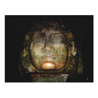 Medusa Sculpture Postcard