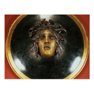Medusa shield postcard