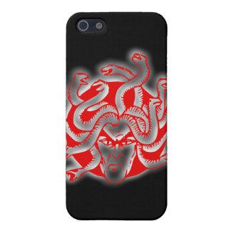 Medusa snake lady snake hair head of snakes iPhone 5 covers