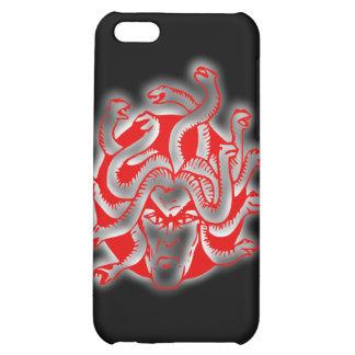Medusa snake lady snake hair head of snakes iPhone 5C covers
