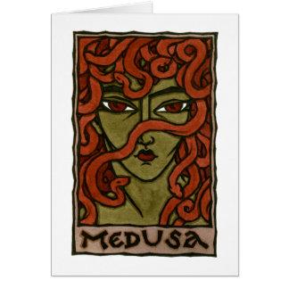 Medusa Stationery Note Card