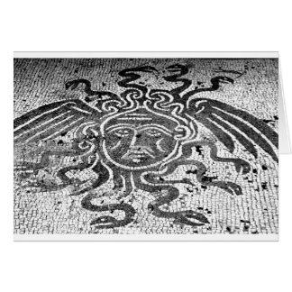 Medusa the Gorgon Greeting Cards