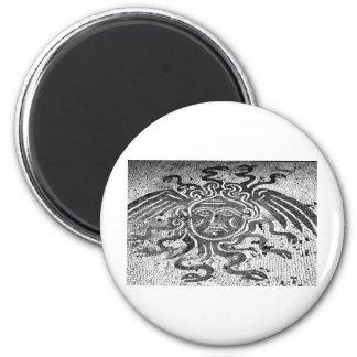 Medusa the Gorgon Magnets