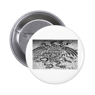 Medusa the Gorgon Pinback Buttons