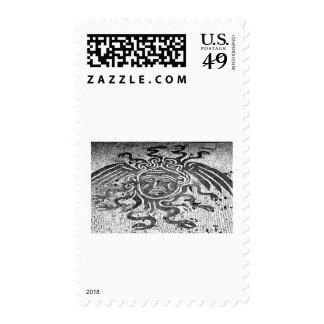 Medusa the Gorgon Postage Stamp