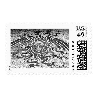 Medusa the Gorgon Postage Stamps