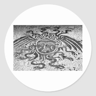 Medusa the Gorgon Round Sticker