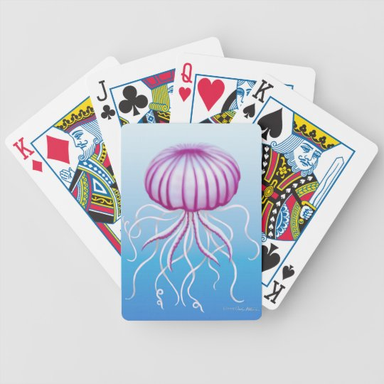 Medusa Type Jellyfish Playing Cards