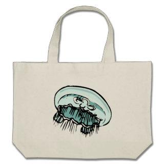 Medusas azules bolsas de mano