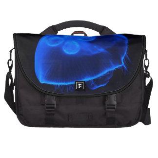 Medusas azules bolsas de portátil