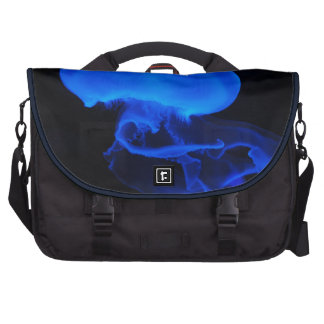 medusas azules bolsas para portátil