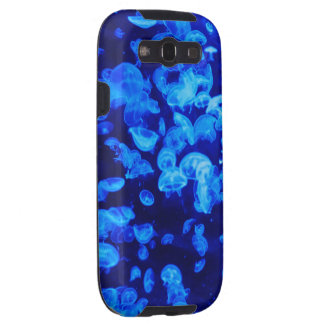 Medusas azules samsung galaxy s3 protectores
