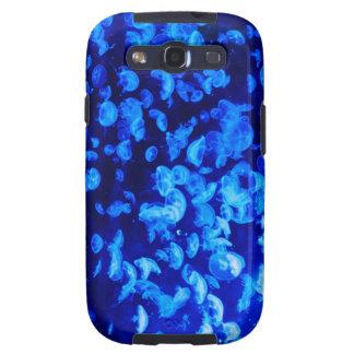 Medusas azules samsung galaxy s3 coberturas