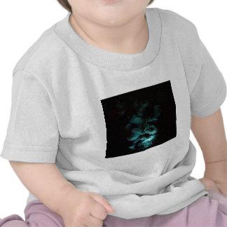 medusas bajo blacklight camisetas