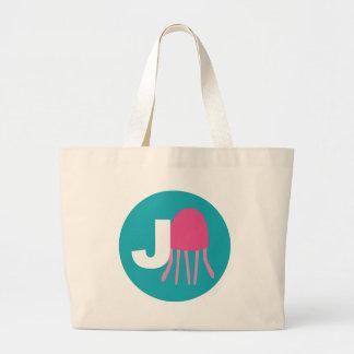 medusas bolsa tela grande