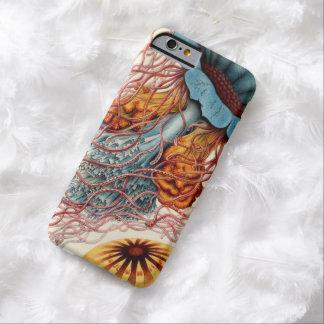 Medusas coloridas del vintage funda para iPhone 6 barely there