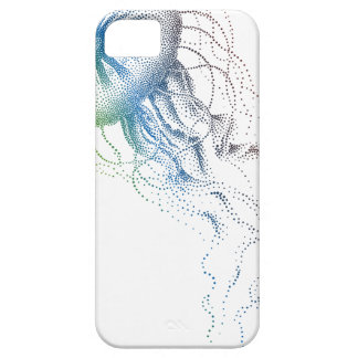 medusas coloridas iPhone 5 carcasa