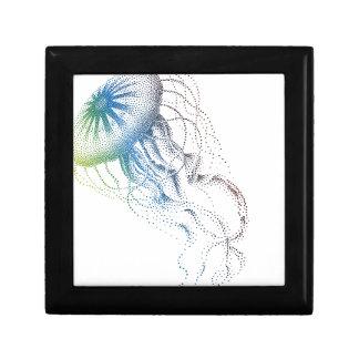 medusas coloridas joyero cuadrado pequeño