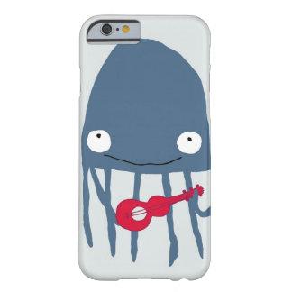 Medusas con el caso del iPhone 6 de Ukelele Funda De iPhone 6 Barely There