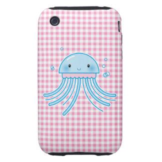 Medusas de Kawaii iPhone 3 Tough Carcasas